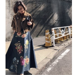 Ameri VINTAGE - 難あり アメリヴィンテージ ANGIE SWITCH FLARE SKIRT