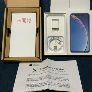 アイフォーン(iPhone)のiPhone XR 128GB ブルー SIMフリー(スマートフォン本体)