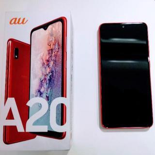 美品 Galaxy A20(スマートフォン本体)