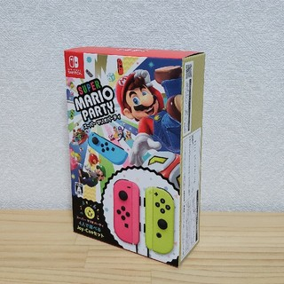 ニンテンドースイッチ(Nintendo Switch)のスーパー マリオパーティ 4人で遊べる Joy-Conセット Switch 2(家庭用ゲームソフト)
