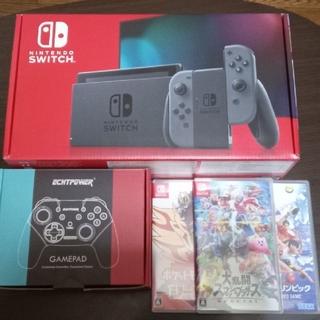 ニンテンドースイッチ(Nintendo Switch)のNintendo Switch スマブラSP ポケモン剣盾(家庭用ゲーム機本体)