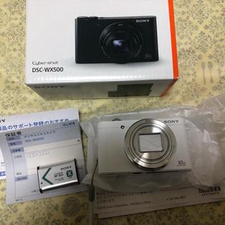 SONY - 美品 SONY ソニー Cyber-shot DSC-WX500