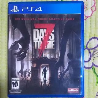 プレイステーション4(PlayStation4)の【ディスク美品】7Days To Die(家庭用ゲームソフト)