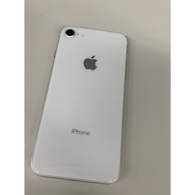 iPhone(アイフォーン)の【中古美品】iPhone8 64GB  シルバー 本体のみ SIMフリー可能 スマホ/家電/カメラのスマートフォン/携帯電話(スマートフォン本体)の商品写真