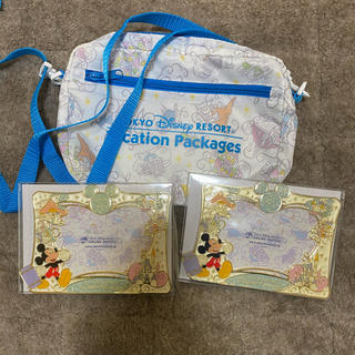 ディズニー(Disney)のディズニー バケーションパッケージ フォトフレーム(キャラクターグッズ)