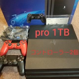 プレイステーション4(PlayStation4)のSONY PlayStation4 Pro 本体 CUH-7100BB01(家庭用ゲーム機本体)