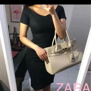 ZARA - 試着のみZARAドレッシーワンピー