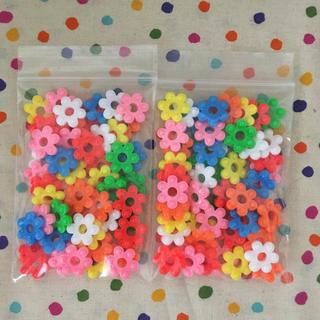 ⭐️花はじき 100個⭐️(知育玩具)