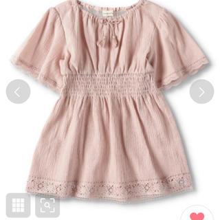ブランシェス(Branshes)のブランシェス チュニック 90 ピンク(Tシャツ/カットソー)