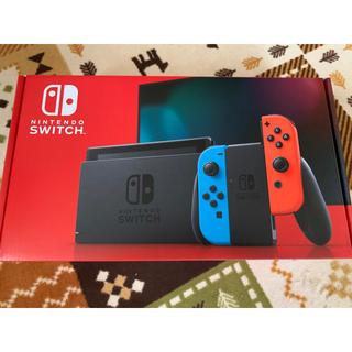 ニンテンドースイッチ(Nintendo Switch)のNintendo Switch ネオンブルー ネオンレッド 本体 スイッチ(家庭用ゲーム機本体)