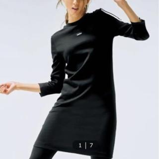 アディダス(adidas)のアディダスチュニック丈ワンピース新品タグ付き(ひざ丈ワンピース)