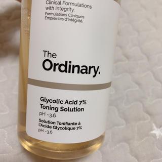 ジオーディナリー グリコール酸7%ピーリング(ゴマージュ/ピーリング)