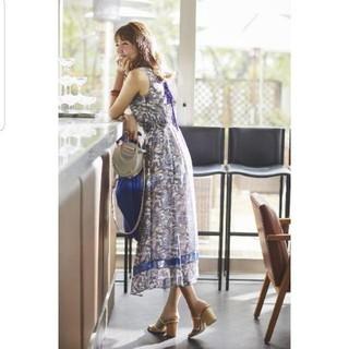 JUSGLITTY - 新品ジャスグリッティー配色 ペイズリー ワンピース スカート ロング