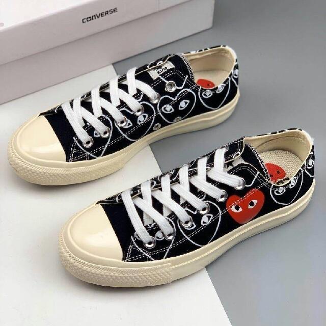 COMME des GARCONS(コムデギャルソン)の男女兼用Play COMME des GARCONS×Converse メンズの靴/シューズ(スニーカー)の商品写真