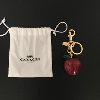 COACH - コーチCOACH りんごのキーホルダー【極美品】