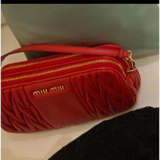 miumiu - miu miu アクセサリーポーチ edit for lulu