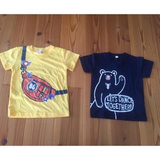 西松屋 - タグ付き トップバリュ Tシャツ2枚セット