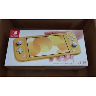 ◆新品 Nintendo Switch lite イエロー 保証書付◆