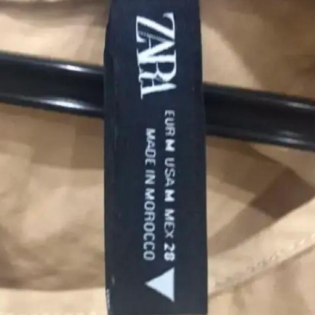 ZARA(ザラ)のzara  zara  アシンメトリーポプリンワンピース  ザラ ワンピース  レディースのワンピース(ひざ丈ワンピース)の商品写真