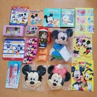 ディズニー(Disney)のディズニー英語絵本ずかん ドナルドDVD ミッキーパペット DWE ポスター(知育玩具)