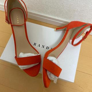 RANDA - randa 新品 サンダル 定価5900円+税