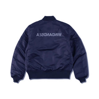 Supreme - 【新品未使用】WIND AND SEA WDS MA-1 NAVY