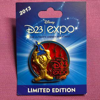 ディズニー(Disney)のDisney LE D23 expo ディズニー ピンバッチ ミッキーソーサラー(バッジ/ピンバッジ)