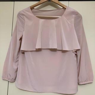 LABORATORY WORK - ブラウス トップス 薄手 ピンク 長袖