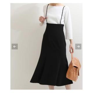 Noble - NOBLE ショルダーストラップサロペットマーメイドスカート