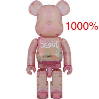 MEDICOM TOY - X-girl × BE@RBRICK 1000%