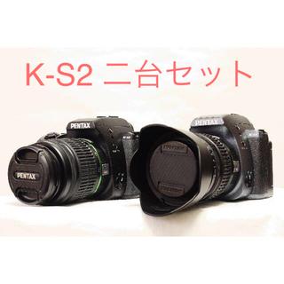 PENTAX - 【週末限定値下げ】PENTAX 一眼レフ K-S2 2台 レンズセット
