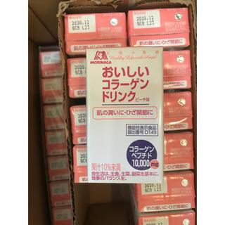 モリナガセイカ(森永製菓)の森永製薬 おいしいコラーゲンドリンク ピーチ 35本 新品未開封(コラーゲン)