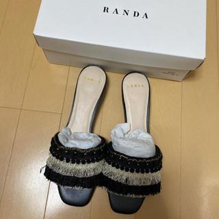 RANDA - randa 新品 サンダル 定価7400円+税