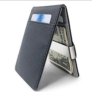 新品未使用! 財布 マネークリップ カードケース ブラック(マネークリップ)