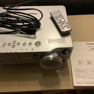 パナソニック(Panasonic)のプロジェクター パナソニック TH-AE 700 完動 中古(プロジェクター)