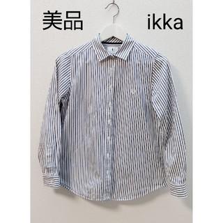 ikka - ikka  ストライプ  シャツ