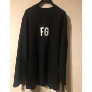 DUDE9 fear of god FG  Tシャツ ロンT ブラック