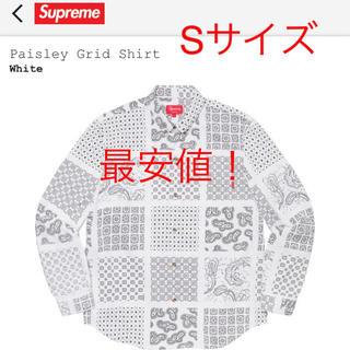 Supreme - supreme supreme Paisley Grid Shirt
