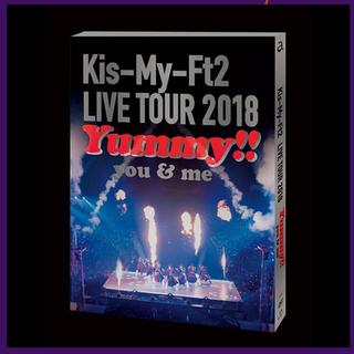 キスマイフットツー(Kis-My-Ft2)のKis-My-Ft2 yummy!!通常盤(アイドル)