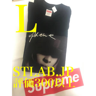 Supreme - 黒 L 19AW Supreme Mary J. Blige Tee フォトT