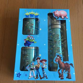 ディズニー(Disney)の新品 トイストーリー 水筒&コップの3点セット(水筒)