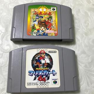 NINTENDO 64 - 任天堂64 ソフト ぷよぷよ マリオカート