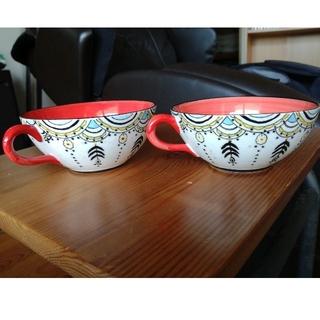 アンソロポロジー(Anthropologie)のアンソロポロジー スープカップ 2客(食器)