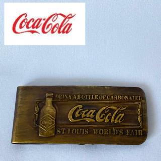 コカコーラ(コカ・コーラ)の☆Coca-Cola☆ コカ・コーラ ビンテージ スタイル マネークリップ(マネークリップ)