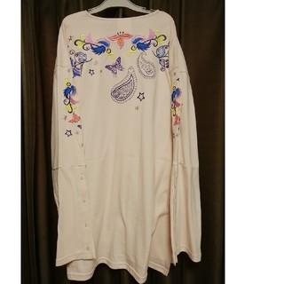 スカラー(ScoLar)のスカラー チュニックTシャツ(Tシャツ(長袖/七分))