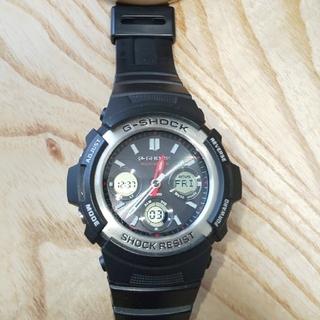 ジーショック(G-SHOCK)のCASIO  G-SHOCK  AWG-M100 電波ソーラー(腕時計(アナログ))