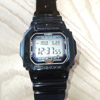 ジーショック(G-SHOCK)のCASIO G-SHOCK G-5600E タフソーラーカスタム美品 (腕時計(デジタル))