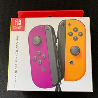 ニンテンドースイッチ(Nintendo Switch)のNintendo Switch Joy-Con ネオンパープル&ネオンオレンジ(その他)