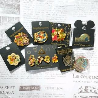 ディズニー(Disney)の【新品未使用】東京ディズニーランド ミッキー  ミニー ピンバッジ セット(バッジ/ピンバッジ)