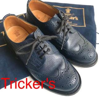 トリッカーズ(Trickers)のTricker's トリッカーズ L5633 BOURTON ウイングチップ(ローファー/革靴)